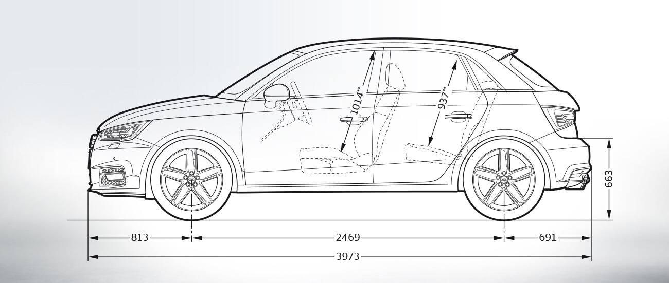 Audi A1 Sportback Afmetingen Audi Nederland Gt Audi A1