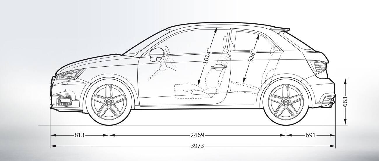 Audi A1 Afmetingen Audi Nederland Gt Audi A1 Groots