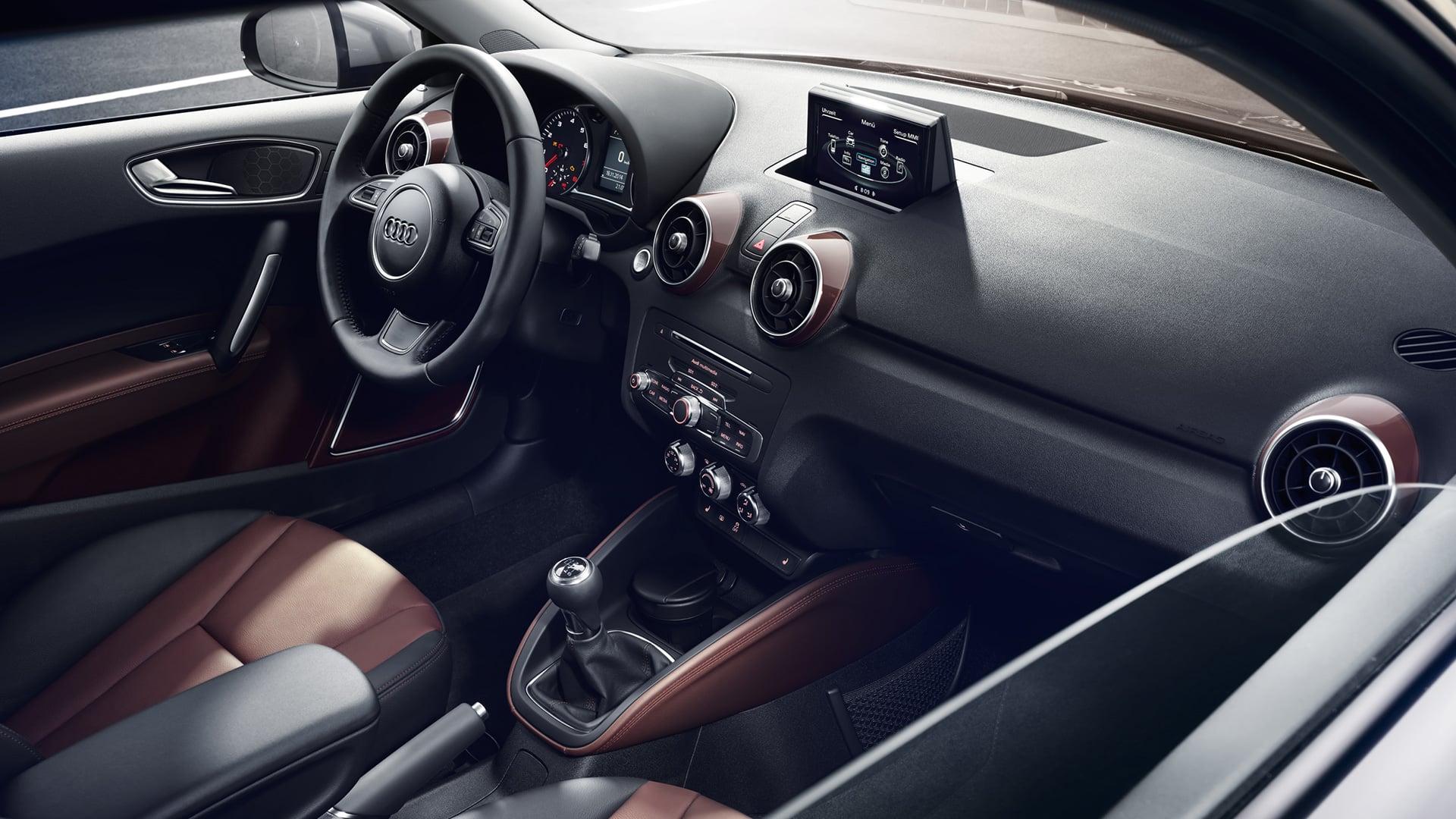 Audi a1 groots idee compact uitgevoerd audi for Interieur audi a1