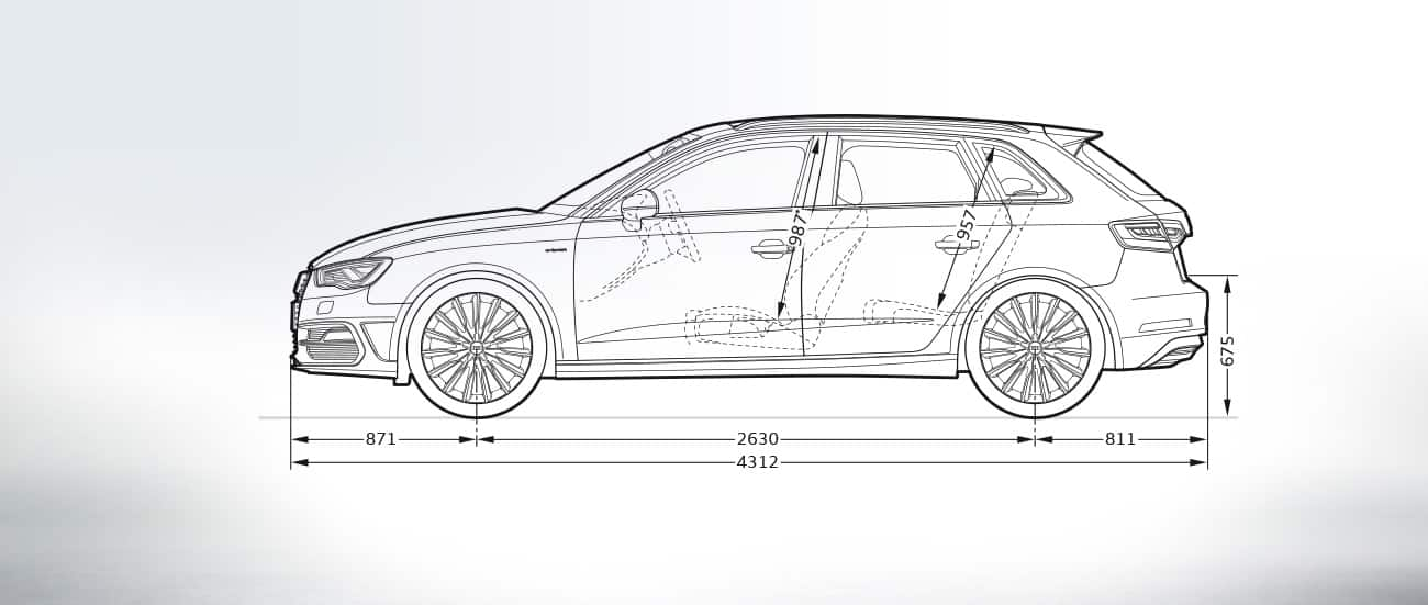 Audi A3 Sportback E Tron Afmetingen Audi Nederland