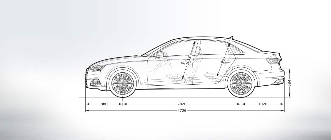 Audi A4 Limousine Afmetingen Audi Nederland Gt A4