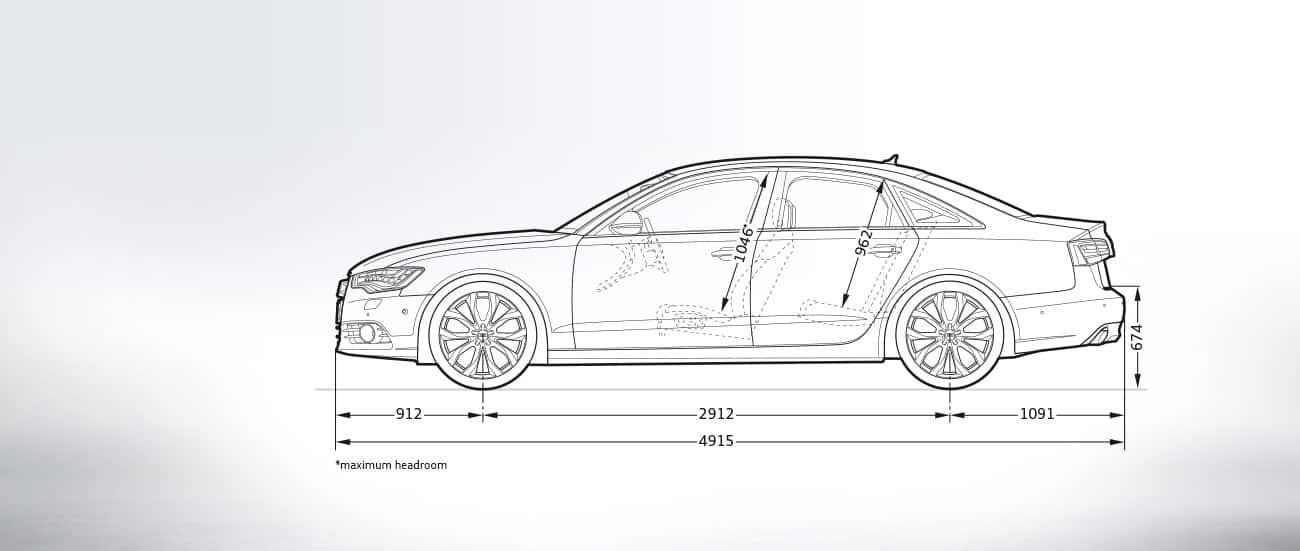 Audi A6 Limousine Afmetingen Audi Nederland Redirect A6