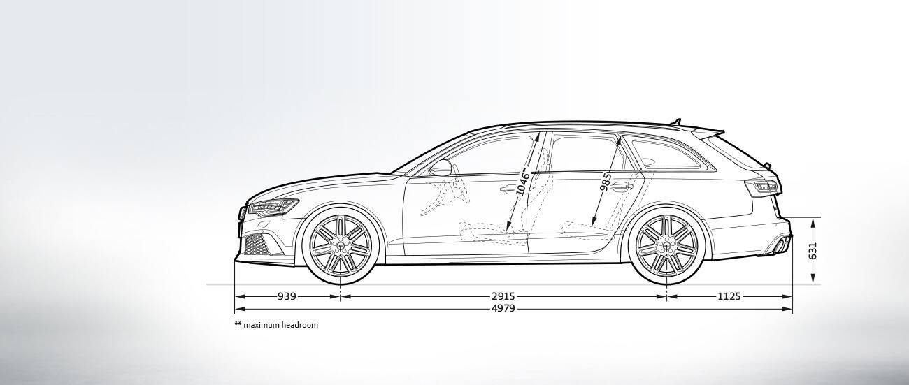 Audi Rs 6 Avant Afmetingen Audi Nederland Rs 6 Avant A6