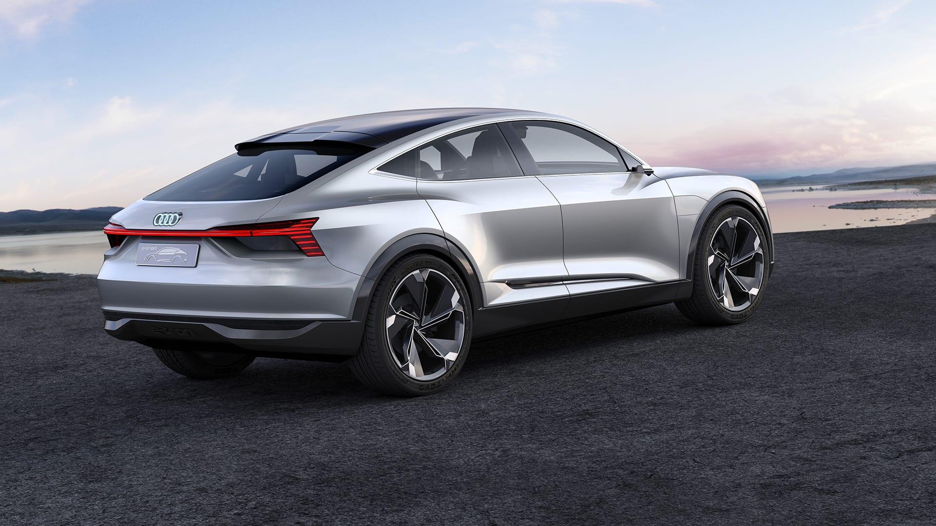 Audi E Tron Sportback Concept Gt Home Gt Audi Nederland