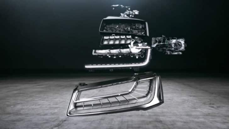 Audi A6 Allroad Quattro Schijnwerper Koplamp Matrix
