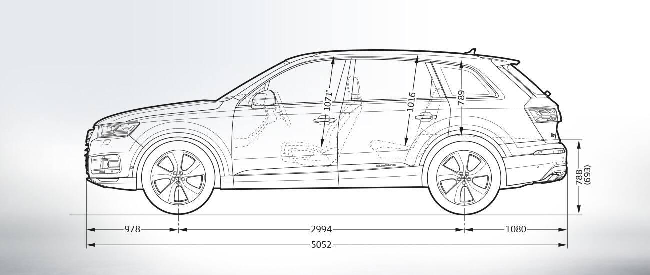 Audi Q7 E Tron Afmetingen Audi Nederland Audi Q7 E Tron Audi