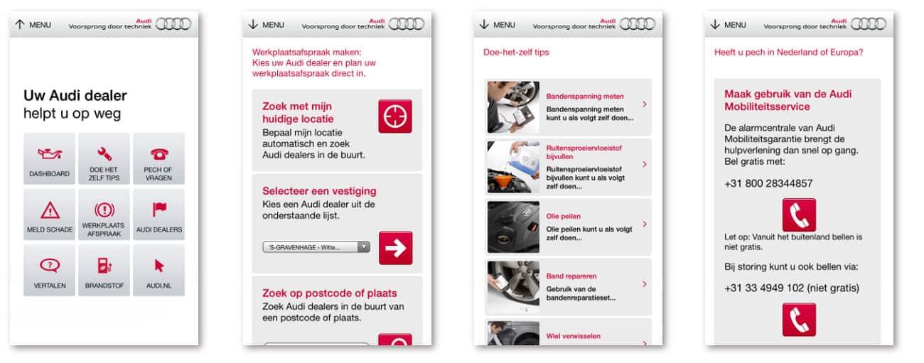 Audi Service App Pool Apps Home Audi Nederland